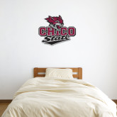 2 ft x 3 ft Fan WallSkinz-Wildcat Head Chico State