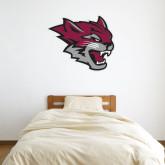 3 ft x 4 ft Fan WallSkinz-Wildcat Head
