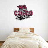 3 ft x 4 ft Fan WallSkinz-Wildcat Head Chico State