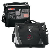 Slope Black/Grey Compu Messenger Bag-Wildcat Head Chico State
