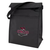 Koozie Black Lunch Sack-Wildcat Head Chico State