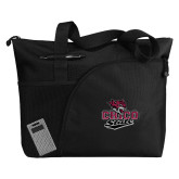 Excel Black Sport Utility Tote-Wildcat Head Chico State