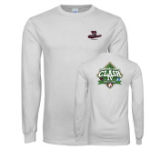 White Long Sleeve T Shirt-New Baseball