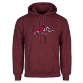 Maroon Fleece Hoodie-Wildcat Full Body