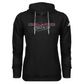Adidas Climawarm Black Team Issue Hoodie-Chico State Wildcats Flat Version