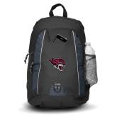Impulse Black Backpack-Wildcat Head