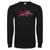 Black Long Sleeve TShirt-Wildcat Full Body