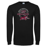 Black Long Sleeve TShirt-100 Years of Chico State Basketball