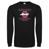 Black Long Sleeve TShirt-Vintage Alumni Swimming & Diving
