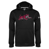 Under Armour Black Performance Sweats Team Hoodie-Wildcat Full Body
