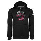 Under Armour Black Performance Sweats Team Hoodie-100 Years of Chico State Basketball