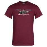 Maroon T Shirt-Cross Country