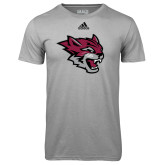 Adidas Climalite Sport Grey Ultimate Performance Tee-Wildcat Head