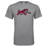 Grey T Shirt-Wildcat Full Body