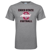 Grey T Shirt-Vintage Alumni Football