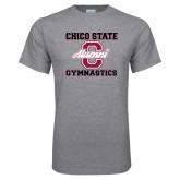 Grey T Shirt-Vintage Alumni Gymnastics