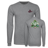 Grey Long Sleeve T Shirt-New Baseball