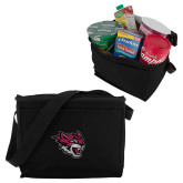 Six Pack Black Cooler-Wildcat Head