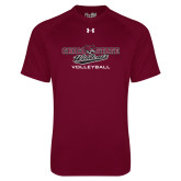 Under Armour Maroon Tech Tee-Volleyball