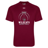 Under Armour Maroon Tech Tee-Basketball Full Ball