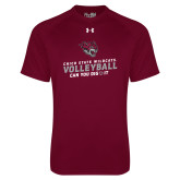 Under Armour Maroon Tech Tee-Volleyball Can You Dig It