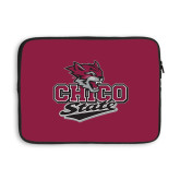 13 inch Neoprene Laptop Sleeve-Wildcat Head Chico State