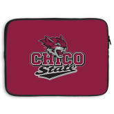 15 inch Neoprene Laptop Sleeve-Wildcat Head Chico State