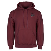 Maroon Fleece Hoodie-Wildcat Head Chico State