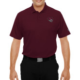 Under Armour Maroon Performance Polo-Wildcat Head