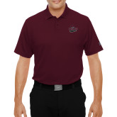 Under Armour Maroon Performance Polo-Wildcat Head Chico State
