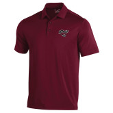 Under Armour Maroon Performance Polo-Cats w/Wildcat Head