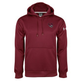 Under Armour Maroon Performance Sweats Team Hood-Wildcat Head