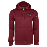 Under Armour Maroon Performance Sweats Team Hood-Wildcat Head Chico State