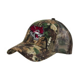 Camo Pro Style Mesh Back Structured Hat-Wildcat Head