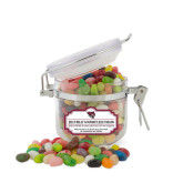 Jelly Belly Small Round Canister-Wildcat Head
