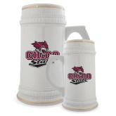 Full Color Decorative Ceramic Mug 22oz-Wildcat Head Chico State