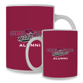 Alumni Full Color White Mug 15oz-Wildcat Head Chico State