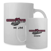 Mom Full Color White Mug 15oz-Wildcat Head Chico State