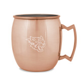 Copper Mug 16oz-Wildcat Head Engraved