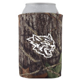 Collapsible Camo Can Holder-Wildcat Head