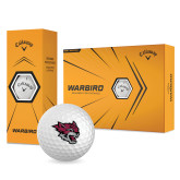 Callaway Warbird Golf Balls 12/pkg-Wildcat Head