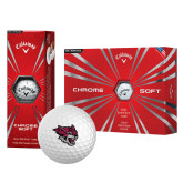 Callaway Chrome Soft Golf Balls 12/pkg-Wildcat Head