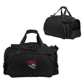 Challenger Team Black Sport Bag-Wildcat Head