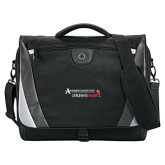 Slope Black/Grey Compu Messenger Bag-Andrews Institute Logo