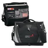 Slope Black/Grey Compu Messenger Bag-Pediatric Group