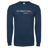 Navy Long Sleeve T Shirt-Our Childrens House