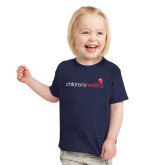 Toddler Navy T Shirt-Childrens Health Logo
