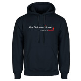 Navy Fleece Hoodie-Our Childrens House