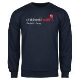 Navy Fleece Crew-Pediatric Group