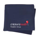 Navy Sweatshirt Blanket-Pediatric Group